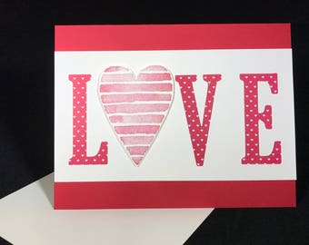Love Valentine's Day or Annivesary Card