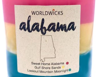 Alabama Triple Scented Candle