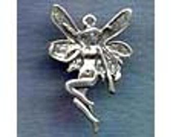 Sterling Silver Fairy Jewelry Pendant Faery   Fae Sidhe FAY014