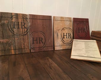 Barn Wood Menu Boards