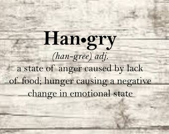 Hangry SVG NEW