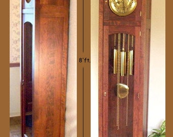 Craftsman/Mission Style Grandfather Clock Plan