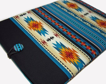 Macbook Pro Case, Macbook Pro Sleeve, 13 inch Macbook Pro Cover, 13 inch Macbook Pro Case, Laptop Sleeve, Blue Southwest Tucson