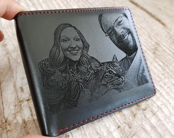 mens wallet, personalized mens wallet, custom engraved leather wallet, men wallets, fathers day, christmas, valentines day, gift for men