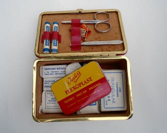Vintage First Aid Kit - Instant Collection