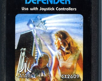 Atari 2600 Defender Game Cartridge
