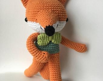 Kylo J. Fox - Amigurumi Fox - Fox toy - Read to ship