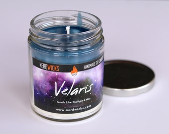 Velaris - A Court of Mist and Fury Inspired Soy Candle - Ocean Mist, Sandalwood, and Citrus Scent