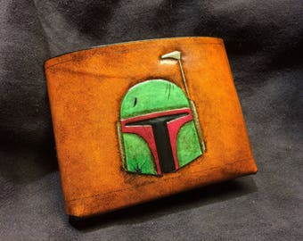 Battle damage Boba Fett Star Wars Wallet