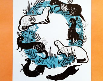 O is for... Otter!