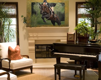 Horse Art, Equestrian Art, Horse Paintings, Equestrian Paintings