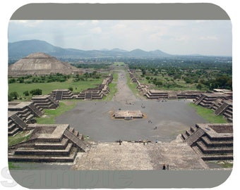 Mouse Pad; Teotihuacan