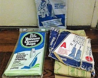 10 Vintage Upright Vacuum Cleaner Bags