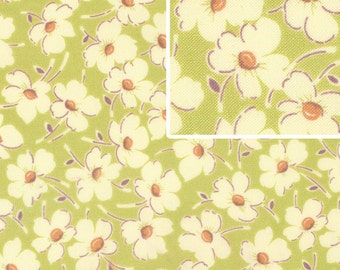 Flower Fabric - Gypsy Caravan Wind Flowers by Amy Butler for Free Spirit Fabrics PWAB086  - Priced by the 1/2 yard