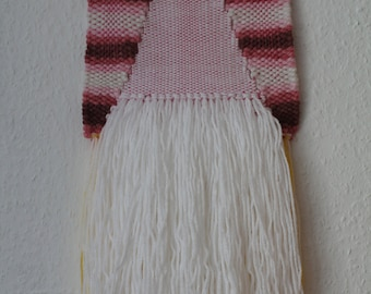 Pink Ombre Woven Wall Hanging