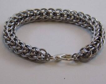 Full Persian alluminium  Chainmaille Bracelet