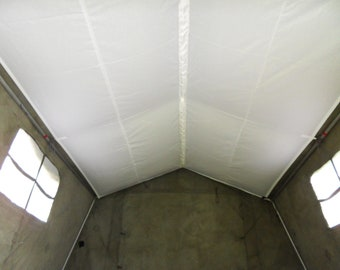 ROOF LINER for British Army 9x9  Tent - White Heavy Duty Synthetic