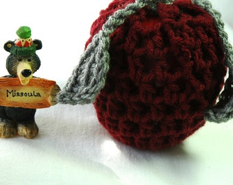 Arknsas Black Apple/Fruit Cozy, Maroon and Heather Grey  - US Shipping Included, Go Griz