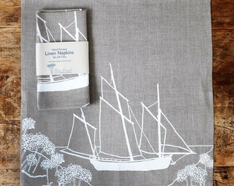 Linen Napkins - Set of Two from The Coastal Collection