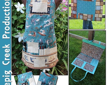 Sews-A-Lot Utility Apron & Project Bag
