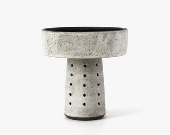 Modern Ceramic Tall Pedestal