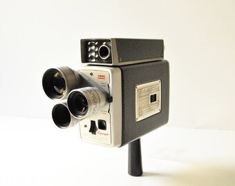 Kodak Brownie Turret Movie Camera - Scopesight Exposure Meter Model f/1.9