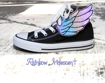 Over the Rainbow Shoe Wings - for YouR SupeR HerO