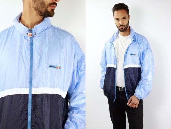 Ellesse Windbreaker Ellesse Jacket Vintage Windbreaker 90s Windbreaker Vintage Track Jacket 90s Track Jacket Windbreaker Men Windbreaker