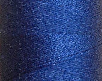 Royal, Silk Machine Threads, 100% Mulberry Silk, Plain Dyed, Luxury Silk Threads, Spun Silk, Solid Colours, 300m, 325yds