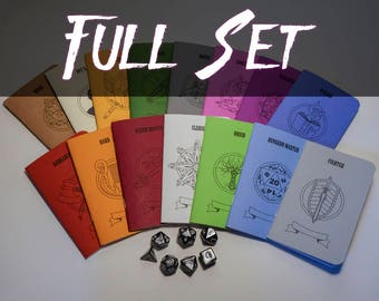Role Playing Journals (Full Set of 13 Journals)