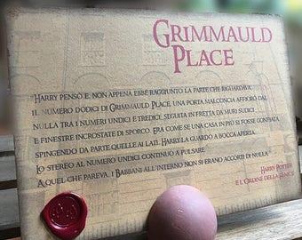 Segnatavolo per eventi e matrimoni ispirato ai luoghi Harry Potter
