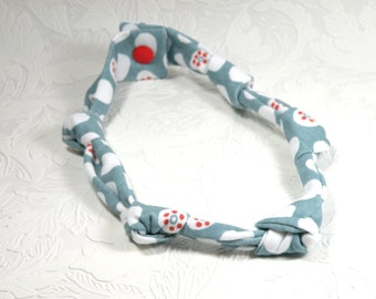 knotted necklace - Sea dots