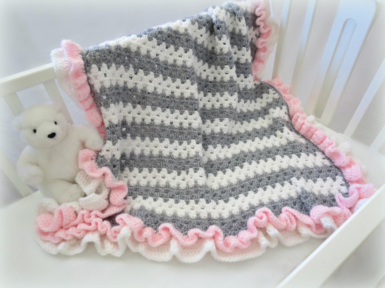 crochet baby blanket pattern baby crochet blanket afghan. Black Bedroom Furniture Sets. Home Design Ideas