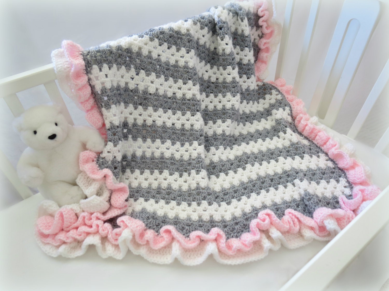 Crochet Baby Blanket Pattern - Baby Crochet Blanket - Afghan ...