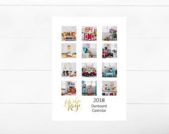 2018 Desk Calendar-Miniature Danbo Toy Photography-Desk Planner-5x7 Photo Print