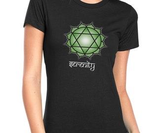 Women's Anahata Chakra T-Shirt