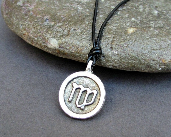 Zodiac Signs Necklace, Constellations Leather Necklace Pendant Mens Womens Zodiac Necklace Astrology Necklace Horoscope Jewelry Adjustable