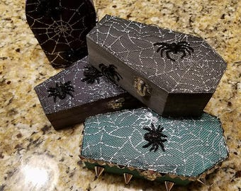 Halloween Boxes | Coffin Boxes | Halloween Decor