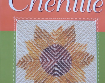 New Directions In Chenille Quilt Book by Nannette Holmberg
