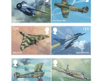 RAF Centenary Stamp Set-Fresh from Edinburgh ~ Royal Mail - A Celebration of the Royal Air Force!