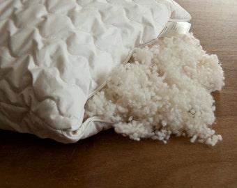 Organic Wool Pillow. 50x75cm.