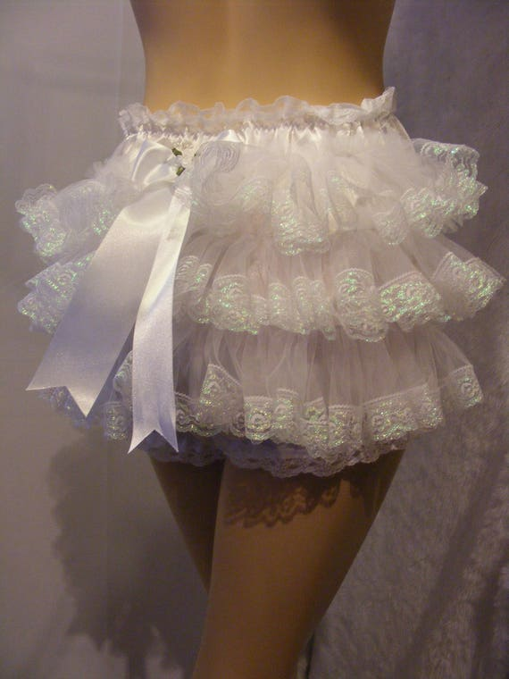 adult baby sissy diaper /nappie cover panties knickers pink satin frilly bum op linings w/proof terry toweling pvc also available chain lock E6ubGfv7