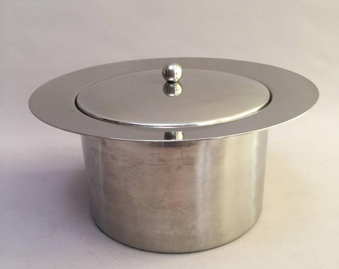 1970s stainless steel ice bucket