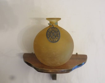 Round Flower Vase Vessel Bud Vase
