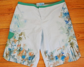 Roxy,Swim Trunks, Board shorts,Surfing ,Cargo Shorts,small,32""