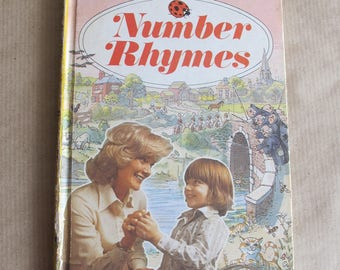 Vintage early Ladybird book  Number Rhymes 1976.