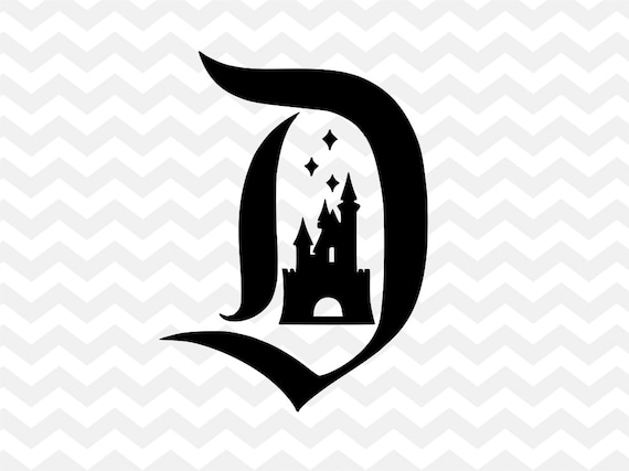 Disneyland D SVG Disney Castle Sleeping Beauty Silhouette Cricut Cut File From WeDesignShirts On Etsy Studio