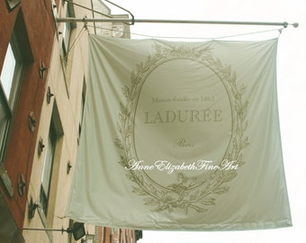 Laduree Photography, Soho, New York, Paris Art, Mint Green Photograph, Macarons, Dorm Decor, Macaroons, Romantic, Kitchen, Food  Art,Nursery