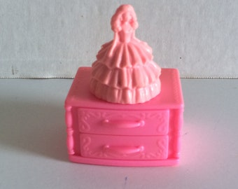 1992 Barbie Magic Moves Jewelry box, Barbie Musical box, Barbie Magic Moves box, Barbie music box