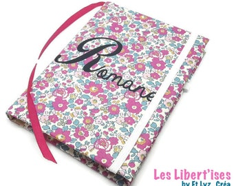 To order * customizable Liberty notebook